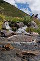 Svaneti Mountain Spring Near Ushguli-Kalnų upelis prie Ushguli (3872439148).jpg