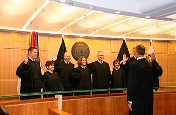 Swearing in the Court of Military Commission Review