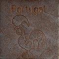 Symbol of Portugal by Helmut Blažej, Bleiburg.jpg