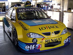 TC 2000 Championship - Mégane Argentina TC2000 racing car in 2006.