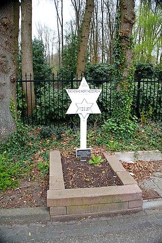 Theodore Bachenheimer - Bachenheimer's memorial monument