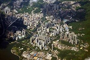 Tai Po - Image: Tai Po New Town