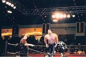 Yoshihiro Tajiri - Tajiri in ECW in 1999