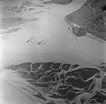 Taku Glacier, sand bars and glacial flour in outwash plain, September 1, 1970 (GLACIERS 6196).jpg