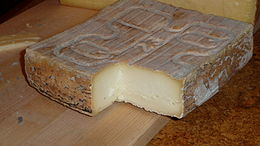 A block of Taleggio