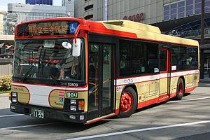 Isuzu Erga - Image: Tama Bus TD10809