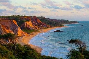 Paraíba - Tambaba beach.