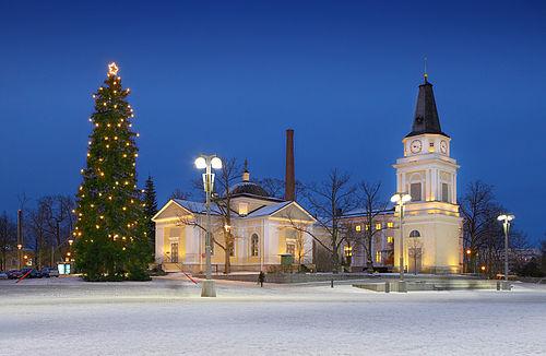 Joulukuusi Tampere