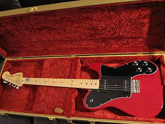 Fender Telecaster Deluxe - Telecaster Deluxe Black Dove.
