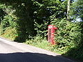 Telephone box on Lelant Downs - geograph.org.uk - 35750.jpg