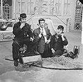 Televisieshow van Rudi Carrell. Rudi Carrell als grondwerker, Bestanddeelnr 913-1951.jpg