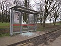 Temple Newsam - vandalised bus shelter (geograph 5300176).jpg
