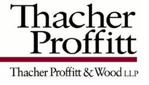 Thacher Proffitt & Wood - Image: Thacher proffitt logo