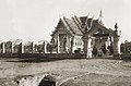Thai Buddhist temple located in the Bodh Gaya 1975.jpg