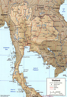 Geography of Thailand