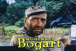 Humphrey Bogart dans L'Odyssée de l'African Queen (1951)