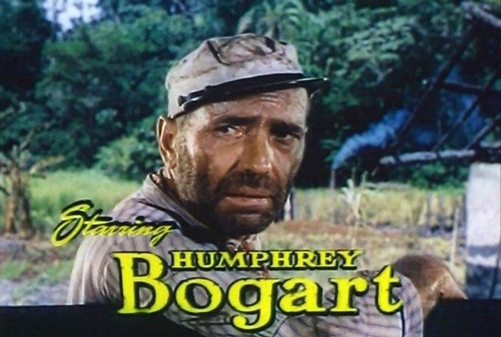 The African Queen, Bogart