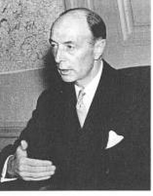 Robert A. Lovett - Assistant Secretary of War Robert A. Lovett attended to the Air Forces Hole from the Developing International Outer Space Law.