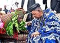 The Alaafin of Oyo, Oba Lamidi Adeyemi III and Oba Jimoh Olajide Titiloye, the 13th Olu of Igboora.jpg