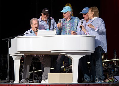 Picture of a band or musician: The Beach Boys