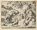 The Bear Seeks Justice from the Lion Against Renard from Hendrick van Alcmar's Renard The Fox MET DP837698.jpg