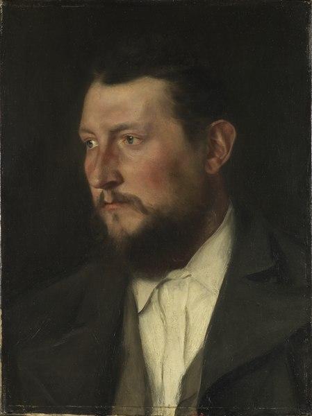 The Chemist J Jais (Wilhelm Leibl) - Nationalmuseum - 18794