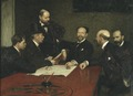 The Council of the Society of Artists (Richard Bergh) - Nationalmuseum - 18606.tif
