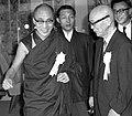 The Dalai Lama opens art exhibit in Tokyo, 1967.jpg