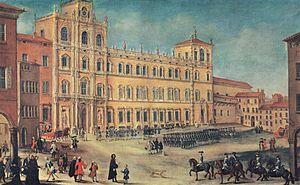 Ducal Palace of Modena - Ducal Palace of Modena, 18th century, unknown artist