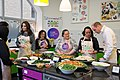 The Duke and Duchess Cambridge at Commonwealth Big Lunch on 22 March 2018 - 124.jpg