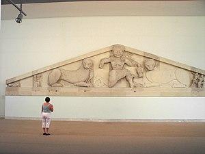 Το αέτωμα της Μέδουσας στο Αρχαιολογικό Μουσείο Κερκύρας