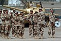 The Iraqi army band performs during a change of command ceremony at Camp Taji.jpg