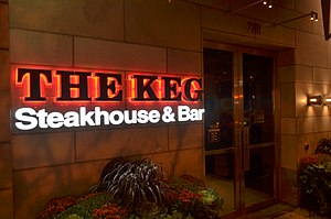 The Keg - Image: The Keg at Yonge and Eglinton in Toronto
