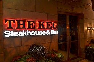 The Keg - Image: The Keg at Yonge and Eglinton in Toronto