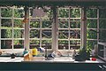 The Kilns, view from the kitchen, 1997.jpg
