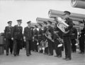 The King Pays 4-day Visit To the Home Fleet. 18 To 21 February 1943, Scapa Flow, Wearing the Uniform of An Admiral of the Fleet, the King Paid a Four Day Visit To the Home Fleet. A15208.jpg