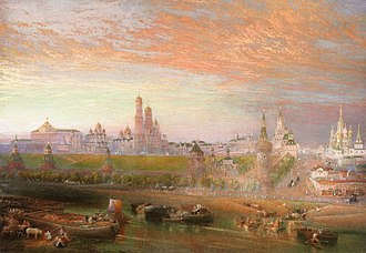 John Cooke Bourne - The Kremlin, Moscow by J.C. Bourne