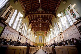 Trinity College School - Image: The Memorial Chapel