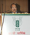 The Minister of State of Agriculture, Consumer Affairs, Food & Public Distribution, Professor K.V. Thomas addressing at the 81st Annual General Meeting of the Indian Council of Agricultural Research, in New Delhi.jpg