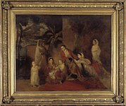 The Palmer Family - Johann Zoffany, 1785 - BL Foster 597
