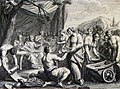 The Phillip Medhurst Picture Torah 468. Offerings to the Lord. Exodus cap 35 vv 21-29. Picart.jpg
