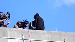Файл:The Reichenbach Fall filming (video).ogv