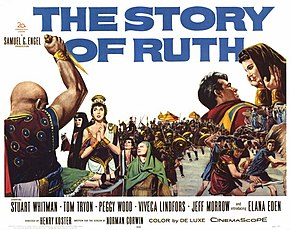 Description de l'image The Story of Ruth original theatrical release poster.jpg.