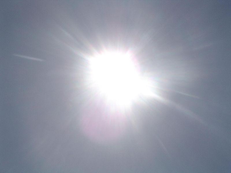 Exposure to the sun