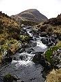 The Tail Burn as it leaves Loch Skeen - geograph.org.uk - 1093002.jpg