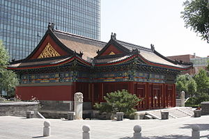 The Temple of the Town Deity in Beijing1