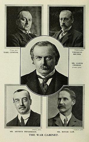 War cabinet - The 1916 War Cabinet