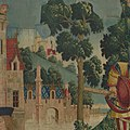 The Unicorn is Killed and Brought to the Castle (from the Unicorn Tapestries) MET DP101239.jpg