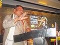 The Union Minister for Tribal Affairs, Shri Jual Oram addressing at the FHRAI Golden Jubilee celebrations, in Bhubaneswar on September 25, 2015.jpg