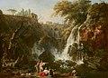 The Waterfalls at Tivoli, with the Villa of Maecenas by Claude Joseph Vernet Mauritshuis 293.jpg